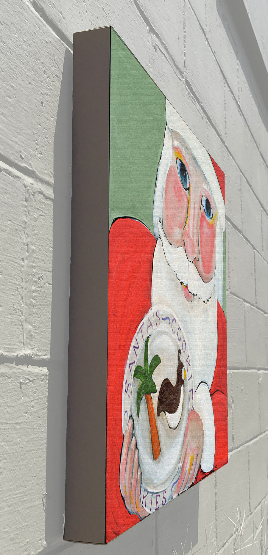 Gallery Canvas - Santa Cookies