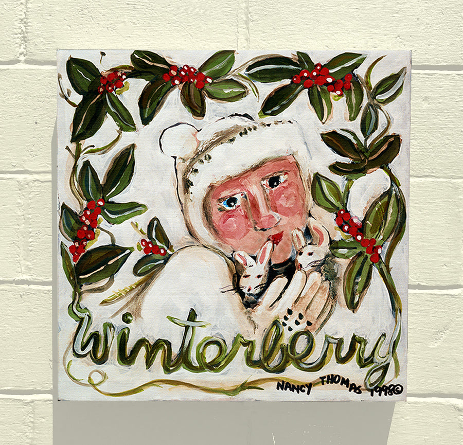 Gallery Canvas - Winterberry