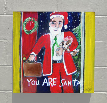 Gallery Canvas - You and Santa Series - You Are Santa