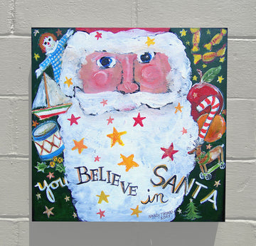 Gallery Canvas - You and Santa Series - You Believe In Santa