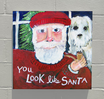 Gallery Canvas - You and Santa Series - You Look Like Santa