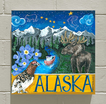 ALASKA - WELCOME STATEHOOD!