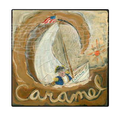 ALPHABET of SWEETS - C - Captain of Caramel
