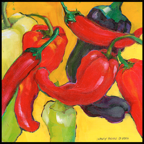 FRUITS & VEGGIES ~ CHILI PEPPERS