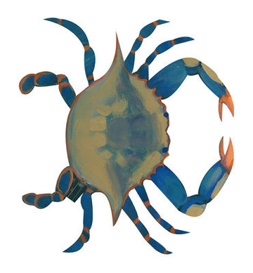 Candelabra Topper - Blue Crab