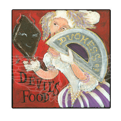 ALPHABET of SWEETS - D - Duchess of Devil's Food