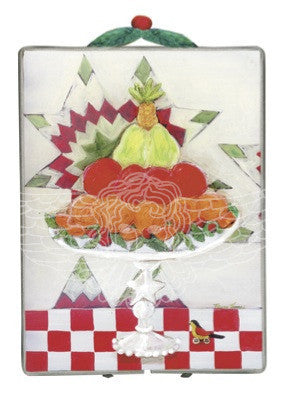 Fruit Cake - (image shows metal frame and topper-metal frame not available at this time)