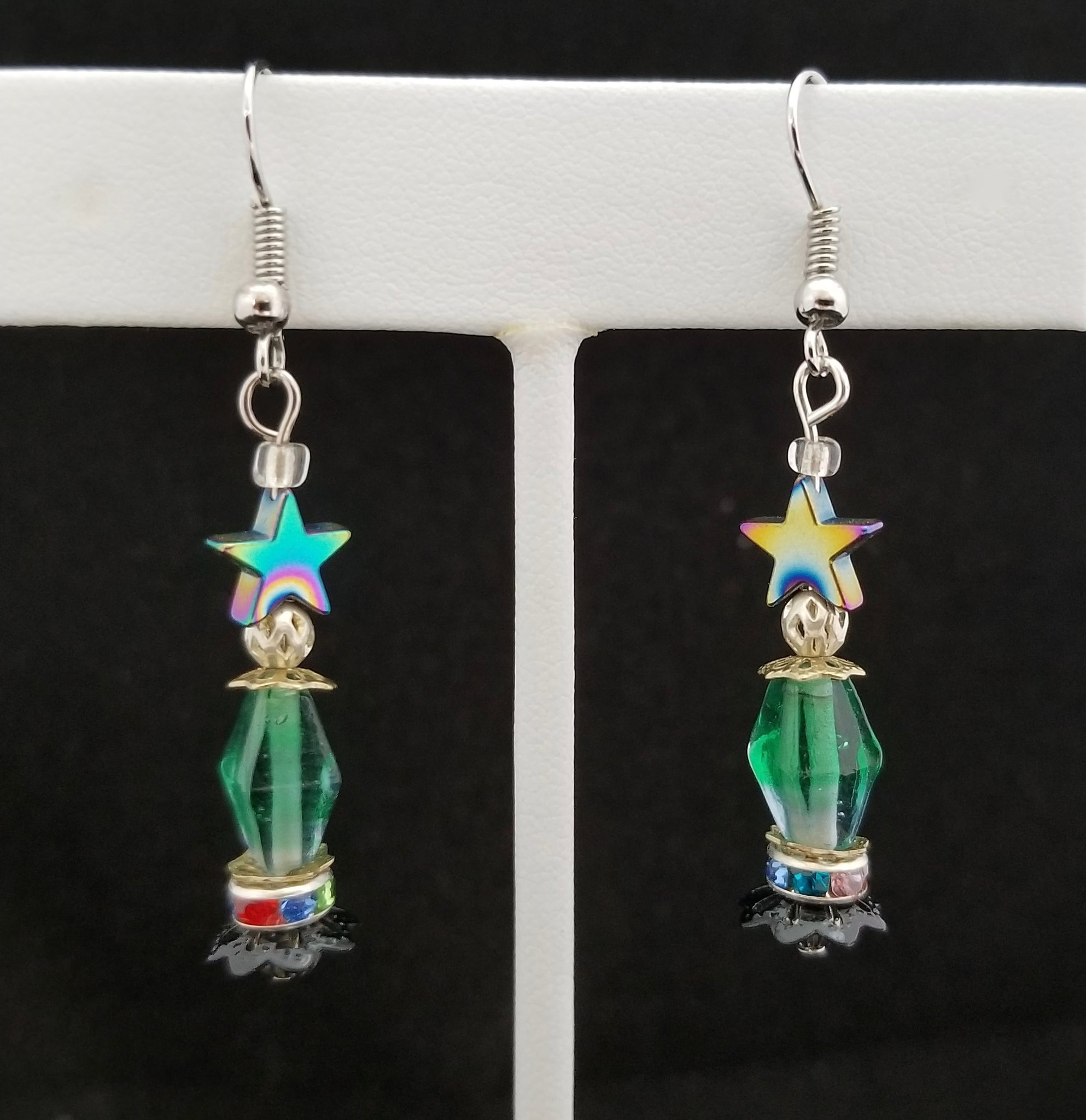 "LT Earrings - ""YOU'RE A SHINEY STAR"""