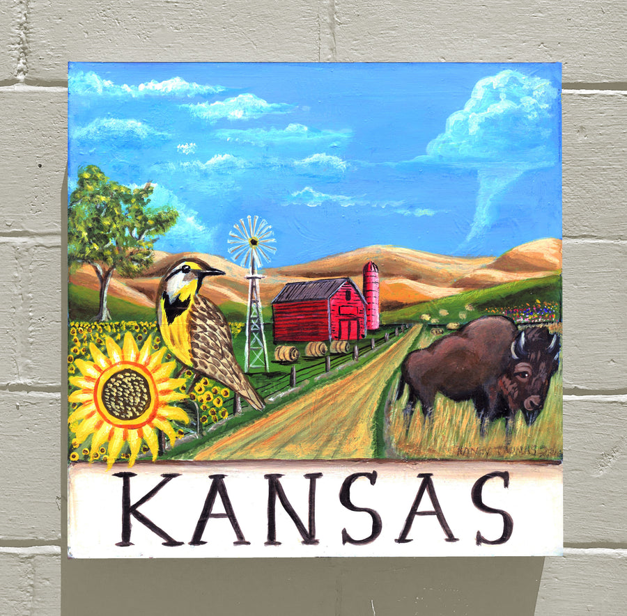 KANSAS - WELCOME STATEHOOD!