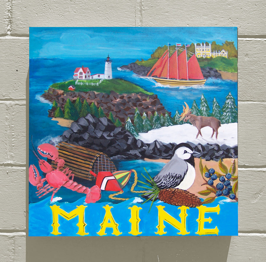Gallery Canvas - Maine