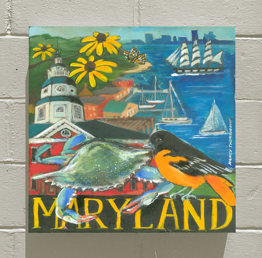 MARYLAND - WELCOME STATEHOOD!