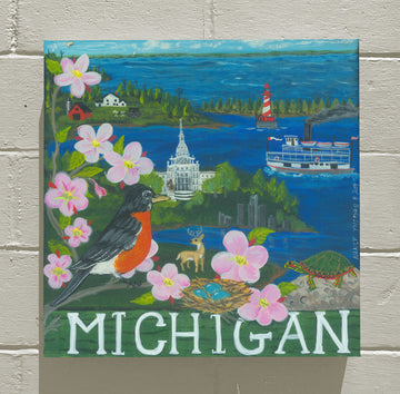 MICHIGAN - WELCOME STATEHOOD!