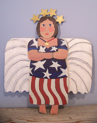 Season Angel-Patriotic