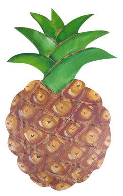 "Pineapple Wall-Hanging 17"" Sculpture"