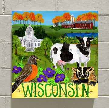 Wisconsin - WELCOME STATEHOOD!