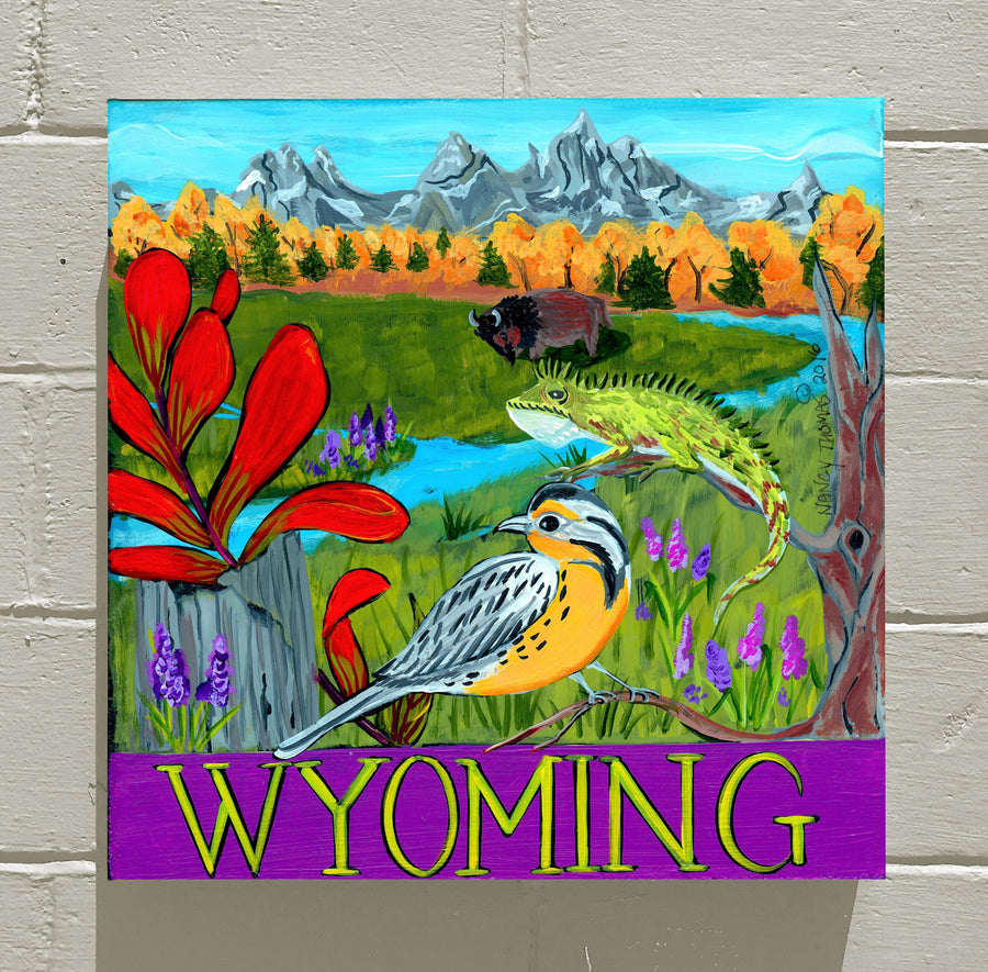 Gallery Canvas - Wyoming