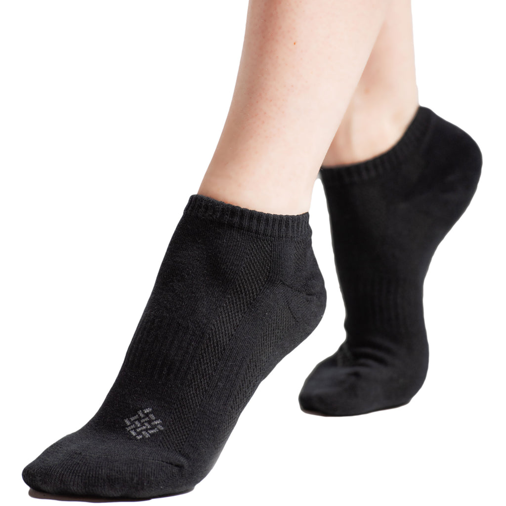 Bamboo Fiber Ankle Socks 6-Pack