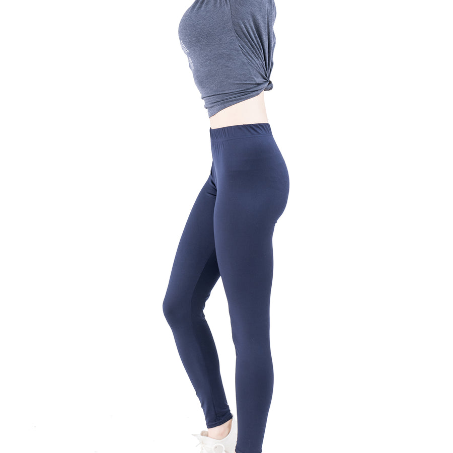 Slim Full Length Classic Leggings