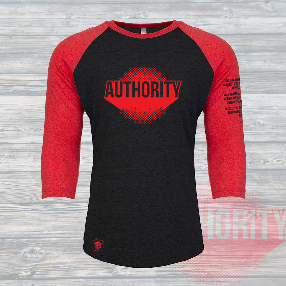 Authority Unisex Baseball Tee