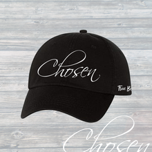 Load image into Gallery viewer, CHOSEN Custom Dad Hat - White