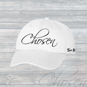 CHOSEN Custom Dad Hat - White