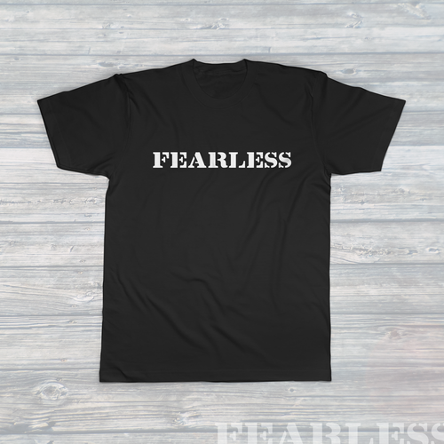 Unisex FEARLESS T-Shirt Black
