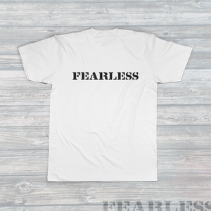 Unisex FEARLESS T-Shirt White