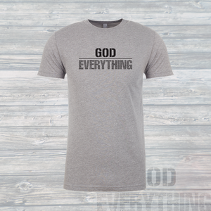 Unisex God Over EVERYTHING T-Shirt White