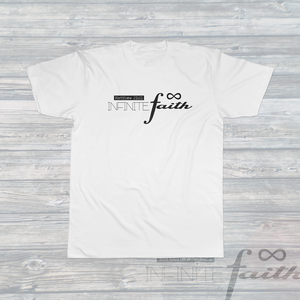 Unisex INFINITE FAITH T-Shirt White