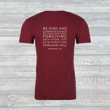 Load image into Gallery viewer, Love | Forgiveness | Freedom Unisex Tee
