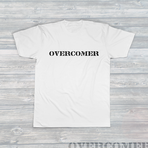 Unisex OVERCOMER T-Shirt White