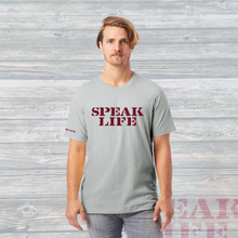 Load image into Gallery viewer, SPEAK LIFE Bold Unisex Tee