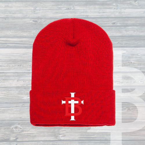 The TB Cuffed Beanie