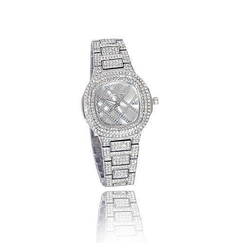 PP KM395 stone ice women's chain watch