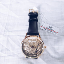 Load image into Gallery viewer, Keep Moving KM310 Unisex Leather Watch - Bejewel
