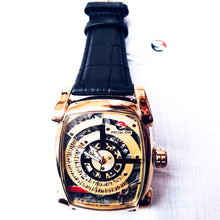 Load image into Gallery viewer, Special one - SO320 men's leather strap watch - Bejewel
