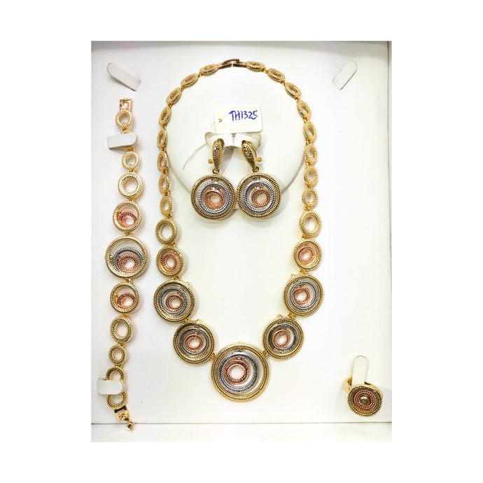 JS242 Women's jewelry set - Bejewel