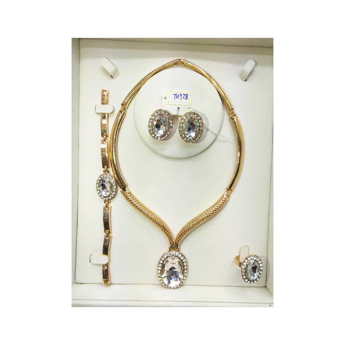 JS731 Women's jewelry set - Bejewel