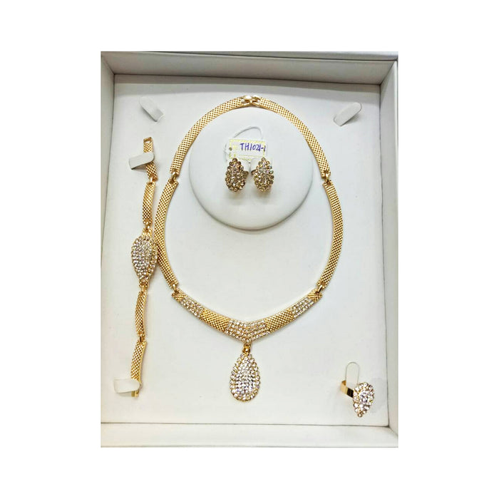 JS908 Women's jewelry set - Bejewel