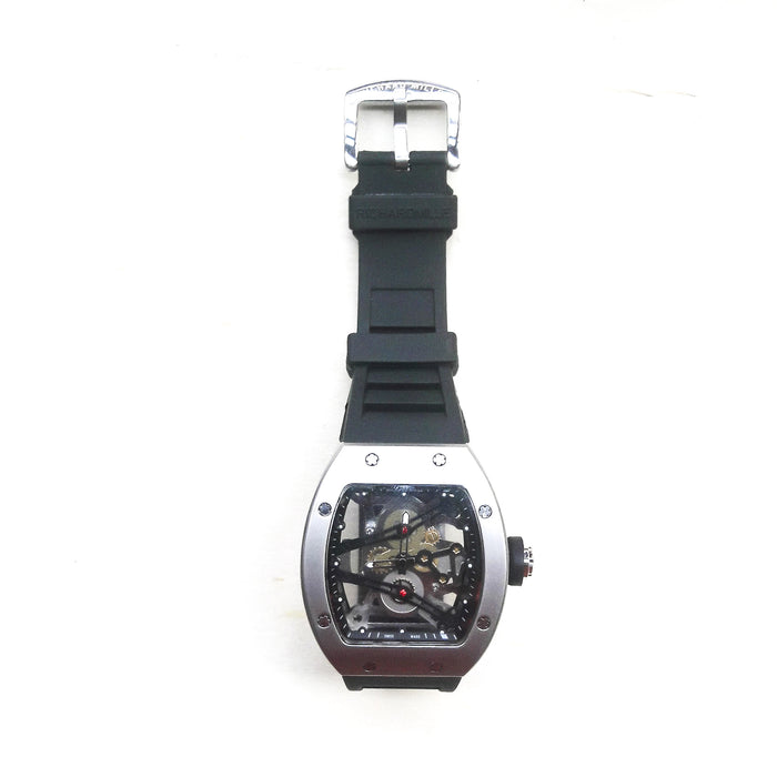 Richard Mille RM343 men's rubber strap watch - Bejewel