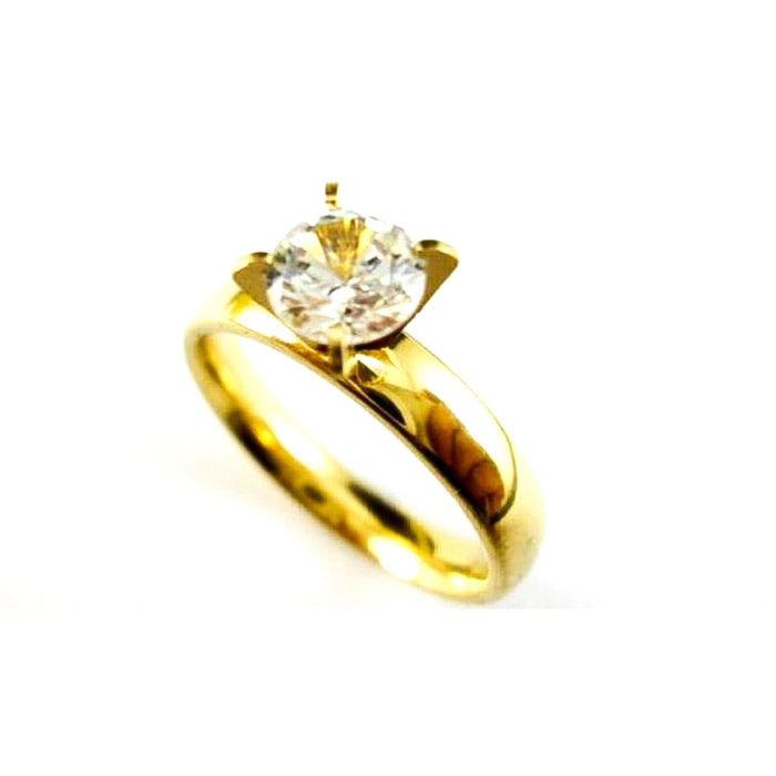 Crowned Diamond Engagement Ring - Bejewel