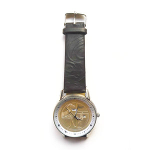 Hermes HM137 Unisex Leather Watch - Bejewel