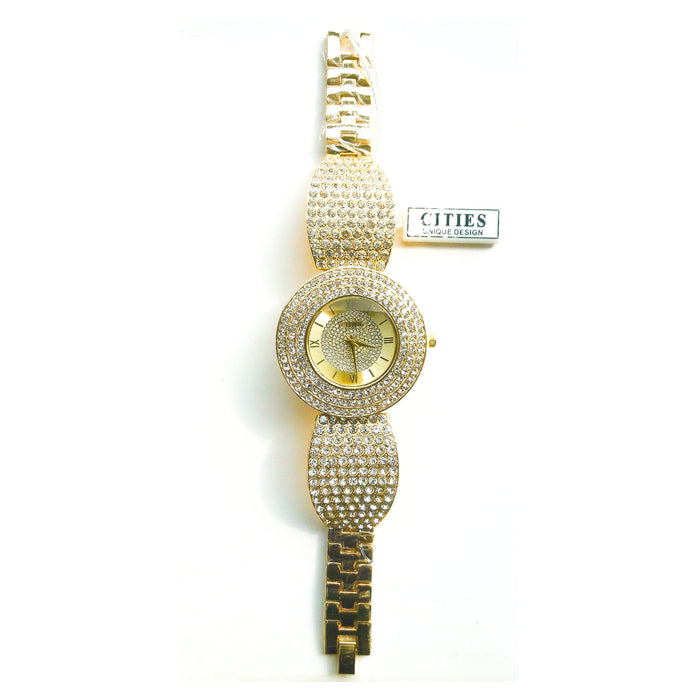 City CT441 women's chain watch - Bejewel