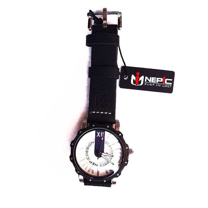 Nepic NP388 unisex leather watch - Bejewel