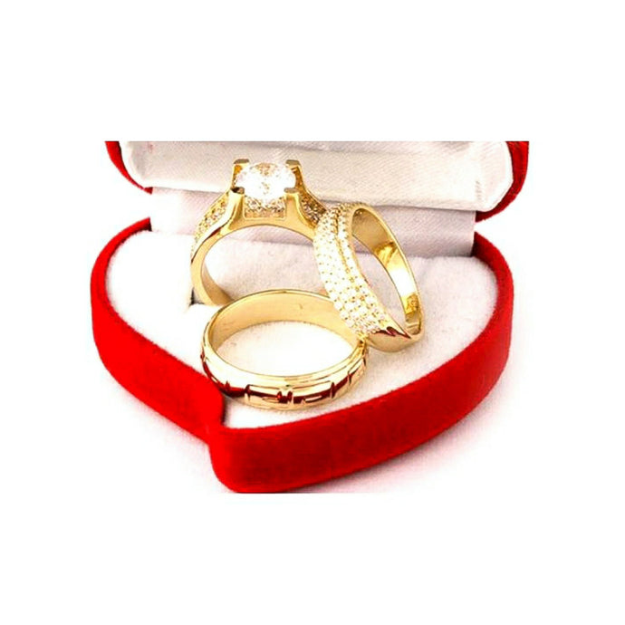WR188 Couples Wedding Ring - Bejewel