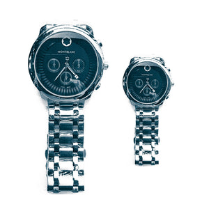 Montblanc MB427 couples chain watch - Bejewel