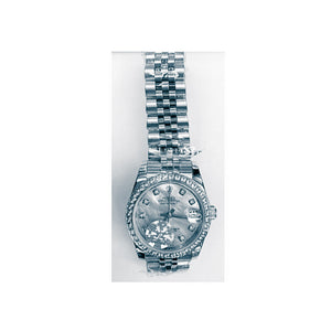 Rolex Oyster RO648 Automatic - Women's Chain Watch - Bejewel