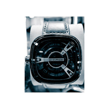 Load image into Gallery viewer, Seven Friday men's leather strap watch - Bejewel