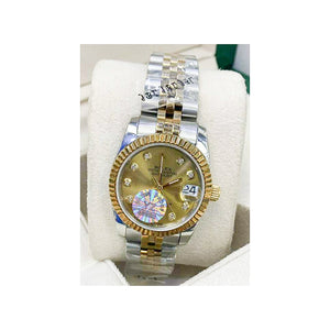 Rolex Oyster RO415 Automatic - Women's Chain Watch - Bejewel