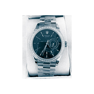 Rolex Geneve RG720 Automatic - Women's Chain Watch - Bejewel